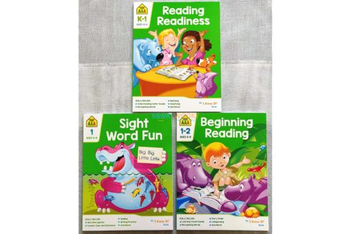 School Zone Reading Readiness Sight Word Fun Beginning Reading