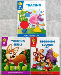 School Zone Tracing Thinking Skills Beginning Sounds