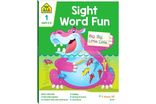 Sight Word Fun Workbook 9781488938771