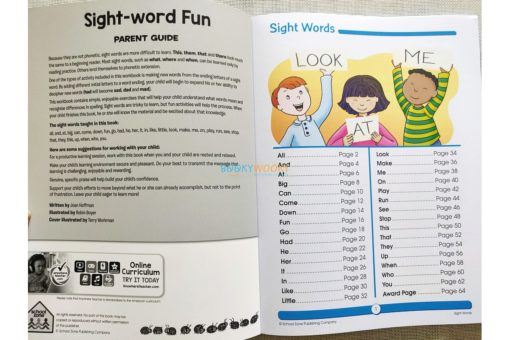 Sight Word Fun Workbook 9781488938771 inside (1)