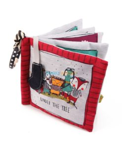 Under the Tree Red Fox Cloth Book