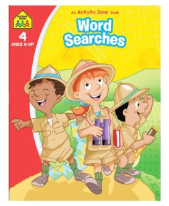 Word Searches An Activity Zone Book School Zone 9781488941771
