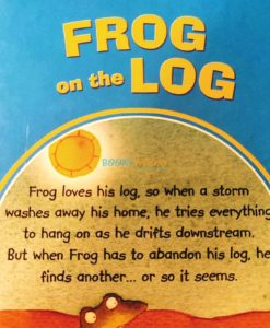Little Stories for Young Readers Frog on the Log (back cover)