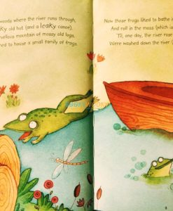 Little Stories for Young Readers Frog on the Log (inside page)