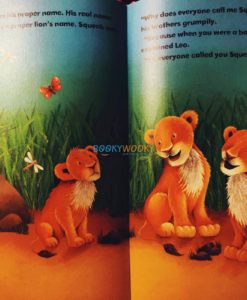 Squeak the Lion 9780857264381 inside page