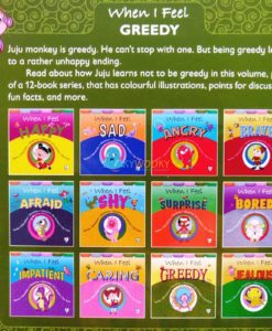 When I Feel Greedy 9789388384551 back cover