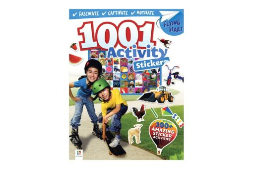 1001 Activity Stickers 9781488906053 cover page