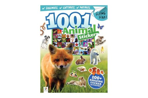 1001 Animal Stickers 9781488906077 cover page