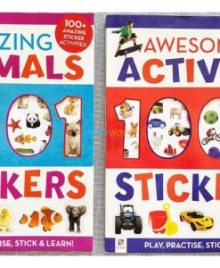 1001 Stickers Amazing Animals (1)
