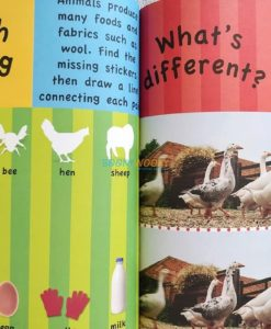 1001 Stickers Amazing Animals (6)