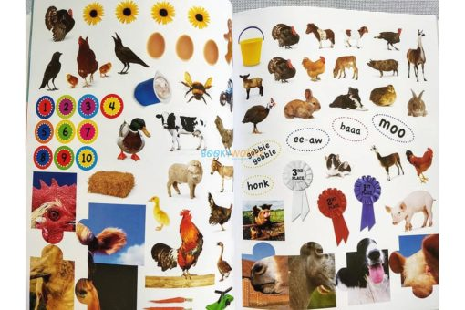 1001 Stickers Amazing Animals (8)