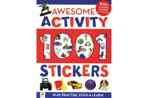 1001 Stickers Awesome Activity 9781743677018 cover page