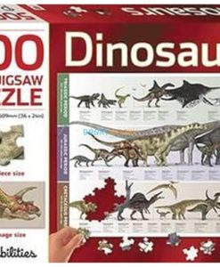 500 Piece Jigsaw Puzzle Dinosaurs 9781743638613 cover page