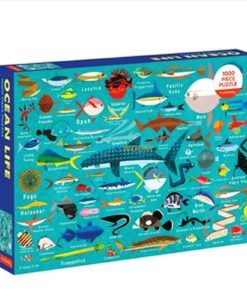 500 Piece Jigsaw Puzzle Ocean Life back cover