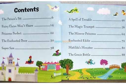 A Treasury of Magical Adventure Stories 2 Index page contents