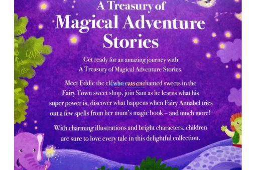 A Treasury of Magical Adventure Stories backpage