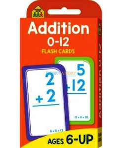 Addition 0-12 Flash Cards 9781488933929 cover page