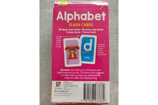 Alphabet Flash Cards back cover