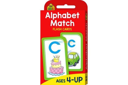 Alphabet Match Flash Cards 9781488933820 cover page 1