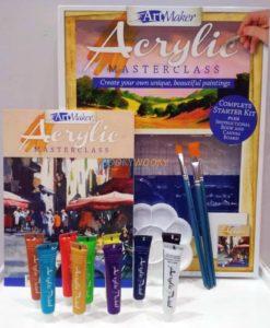 Art Maker Acrylic Masterclass Pack -12 (1)