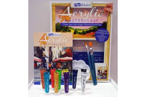 Art Maker Acrylic Masterclass Pack -12 (1)