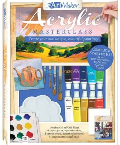 Art Maker Acrylic Masterclass Pack -12 9781488938627 cover page