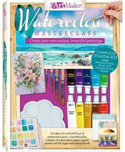 Art Maker Watercolour Masterclass Pack -12 9781488938634 cover page