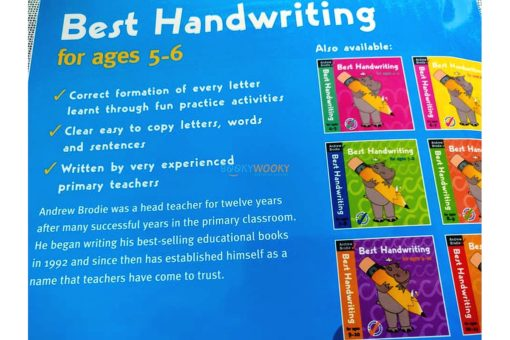 Best Handwriting for ages 5-6 (6)