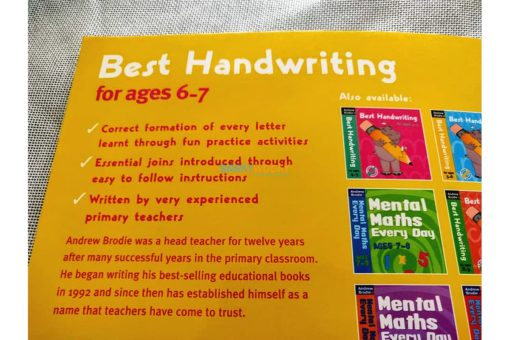 Best Handwriting for ages 6-7 (6)