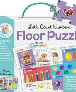 Building Blocks Let's Count Numbers 9781488925955 Floor Puzzle cover page