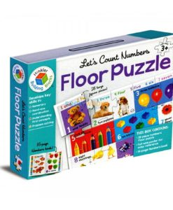 Building Blocks Let's Count Numbers Floor Puzzle 1