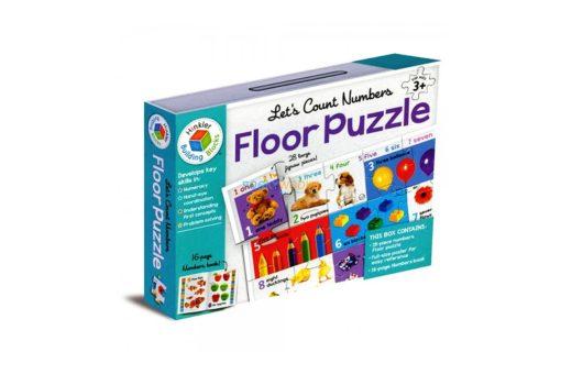 Building Blocks Let's Count Numbers Floor Puzzle 1