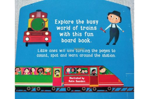Busy Trains (Shape Book) (3)