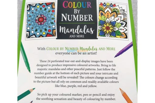 Colour By Number Mandalas and More (5)