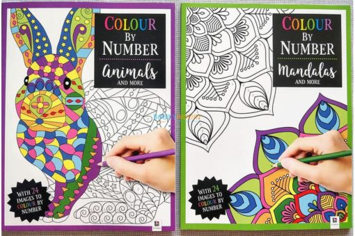 Colour By Number Mandalas and More (6)
