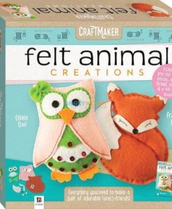 Craftmaker Felt Animal Creations 9781488910050 cover page