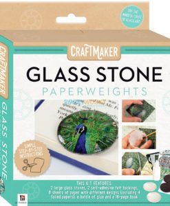 Craftmaker Glass Stone Paperweights Pack 9781488915086 cover page
