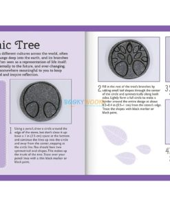 Craftmaker Stone Art Metallic Cosmic Tree Pack1
