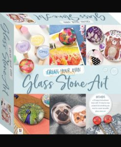 Create Your Own Glass Stone Art Pack 9781488940798 cover page