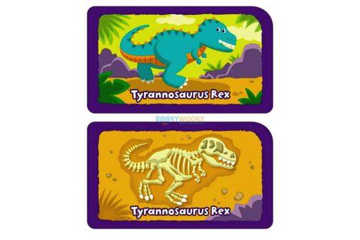 Dino Dig Card Game 1
