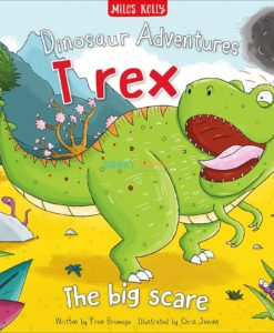Dinosaur Adventures T Rex The Big Scare 9781786174284 (1)