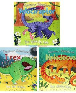 Dinosaur Adventures Velociraptor The Speedy Tale (6)