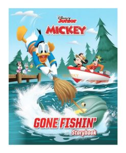 Disney Junior Mickey Gone Fishin 9789389290240 cover page