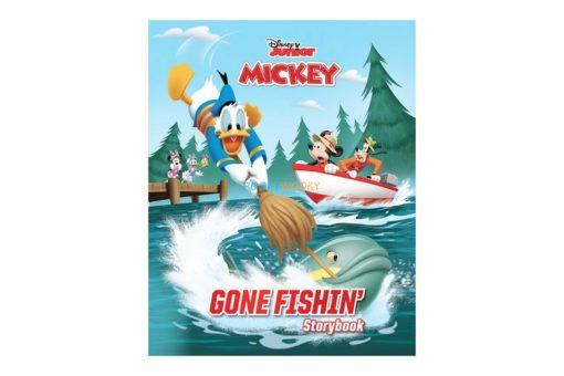 Disney Junior Mickey Gone Fishin 9789389290240 cover page