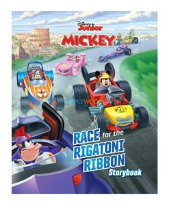 Disney Junior Mickey Race for the Rigatoni Ribbon 9789389290226 cover page