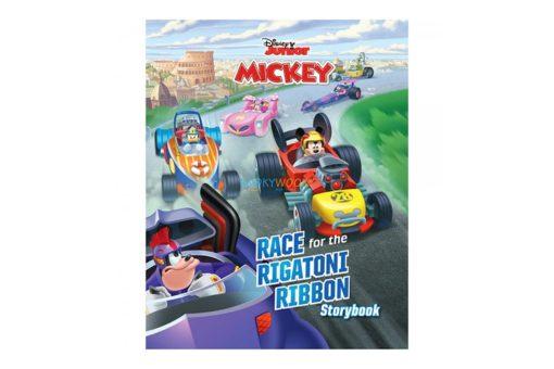 Disney Junior Mickey Race for the Rigatoni Ribbon 9789389290226 cover page
