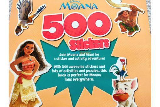 Disney Moana 500 Stickers (3)