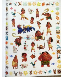 Disney Moana 500 Stickers (4)