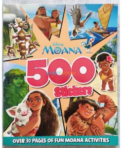 Disney Moana 500 Stickers 9781789059052 (1)