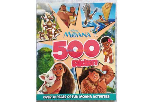 Disney Moana 500 Stickers 9781789059052 (1)